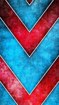 آبی-قرمز