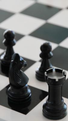 شطرنج-سیاه و سفید