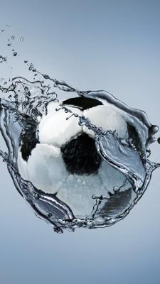 توپ فوتبال-توپ-آب