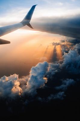 بال هواپیما-آسمان