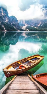 قایق-دریاچه