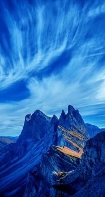 کوهستان-آسمان