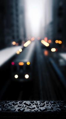 خیابان-محو-باران-قطره باران-قطره