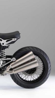 موتور سواری-موتور-خاکستری