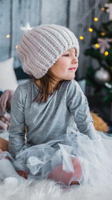 کریسمس-دختر-دختر بچه-کلاه