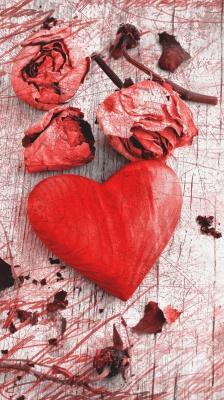 قلب-قرمز