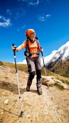 دختر-کوهنوردی