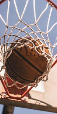 بسکتبال-توپ بسکتبال-حلقه بسکتبال