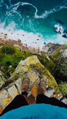 صخره-صخره نوردی-تنهایی-منظره