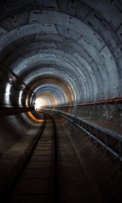 تونل-ریل قطار-ریل
