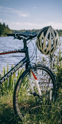 دوچرخه سواری-دوچرخه-دریاچه