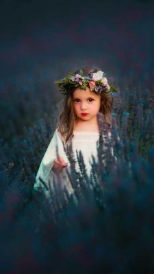 دختر-دختر بچه-گلستان