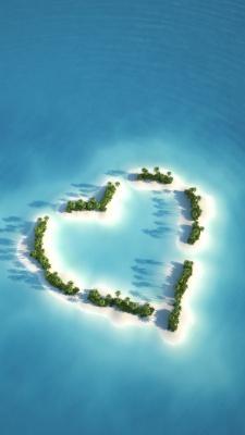 آبی-قلب-سبز-جزیره-فیروزه ای