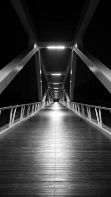پل-شب-سیاه و سفید