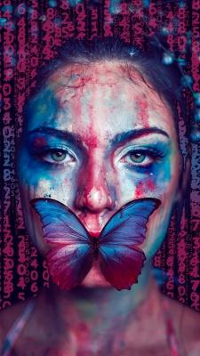 پروانه-دختر