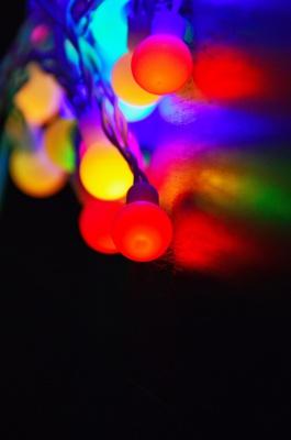 ریسه لامپ-رنگی
