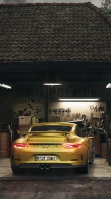 طلایی-ماشین