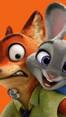 زوتوپیا-خرگوش-روباه