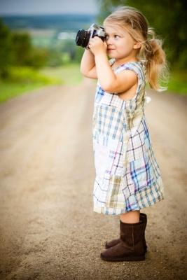دختر بچه-عکاسی