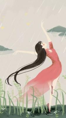 دختر-باران