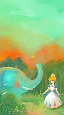 فیل-دختر