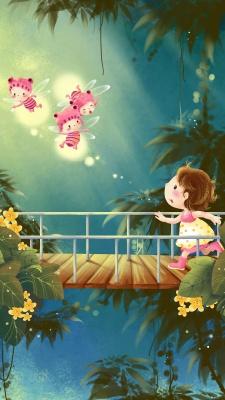 دختر-پل-پروانه