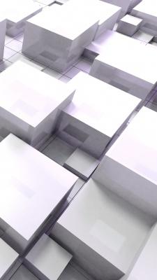 مکعب-مکعبی-سفید