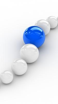 گرد-آبی-سفید-گوی