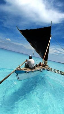 دریا-قایق
