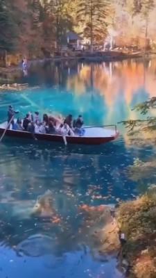 قایق-دریاچه-جنگل