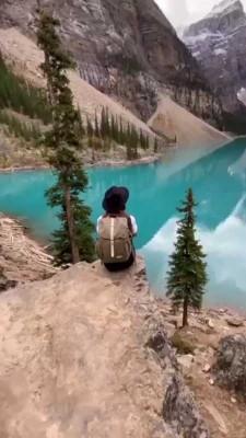 دریاچه-صخره-دختر
